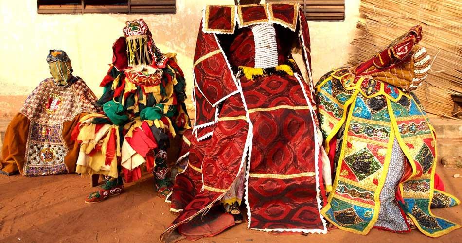 The Living Ghosts of Benin - Egungun