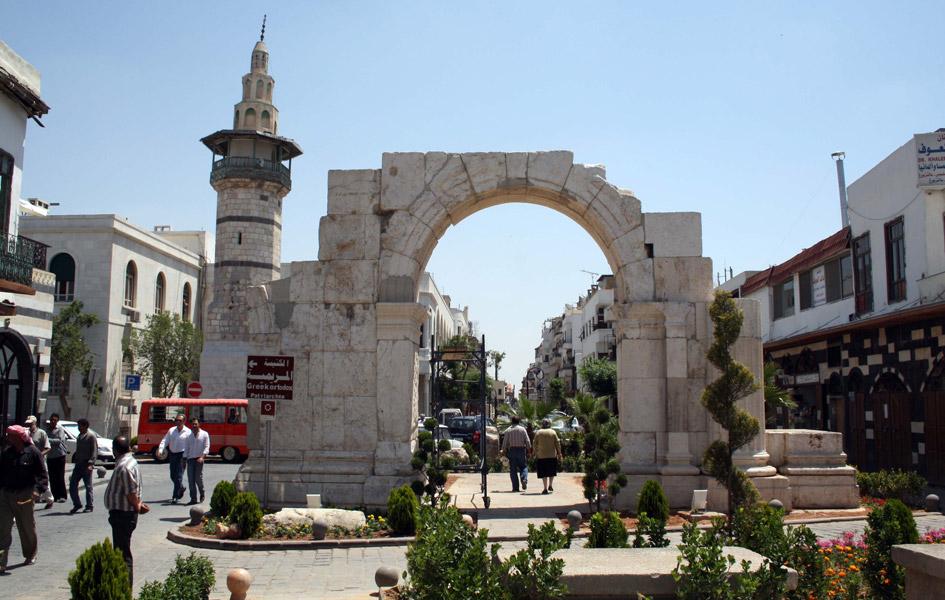 Oldest City Damascus Syria