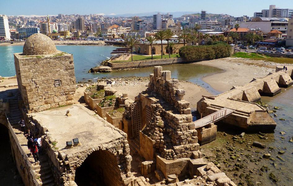 Oldest city Sidon lebanon